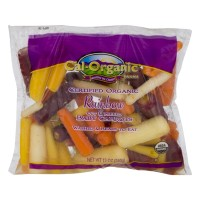 Fresh Baby Carrots - Organic - Rainbow 12 OZ