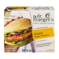 Dr. Praeger's Asian Veggie Burgers - 4 CT / 10.0 OZ