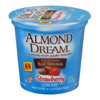 Almond Dream Low Fat Non-Dairy Yogurt Strawberry - 6.0 OZ