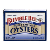 Bumble Bee Premium Select Fancy Smoked Oysters 3.75 OZ