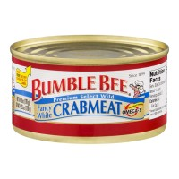 Bumble Bee Fancy White Crabmeat 6 OZ