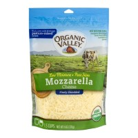 Organic Valley Mozzarella Cheese Finely Shredded - 6.0 OZ