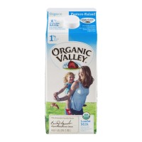 Fresh Milk Organic Valley 1% - .5 GL