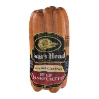 Boar's Head Natural Casing Frankfurters: Beef - 7ct