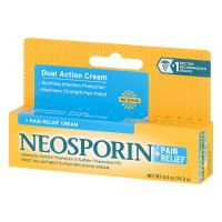 Neosporin + Pain Relief Dual Action Cream - .5 OZ