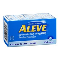 Aleve Pain Reliever Tablets - 100 CT