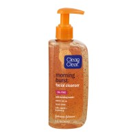 Clean & Clear Morning Burst Oil-Free Facial Cleanser - 8.0 FL OZ
