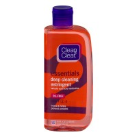 Clean & Clear Essentials Deep Cleaning Astringent Oil-Free - 8.0 FL OZ