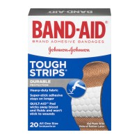 Band-Aid Brand Adhesive Bandages Tough Strips All One Size - 20 CT