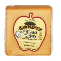 Red Apple Cheese Apple Smoked Gruyere Cheese 8 OZ
