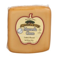Red Apple Cheese Apple Smoked Mozzarella Cheese 8 OZ