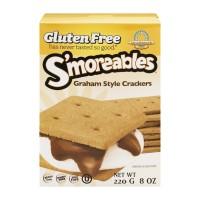 S'moreables Graham Style Crackers - Gluten Free - 8 OZ