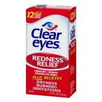 Clear Eyes Redness Relief Eye Drops - .5 FL OZ