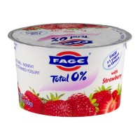 Fage Total 0% Nonfat Greek Strained Yogurt - Strawberry 5.3 OZ