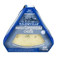Salemville Amish Gorgonzola Cheese Wedge 4 OZ