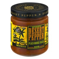 Desert Pepper Trading Company Authentic Peach Mango Salsa - 16.0 OZ