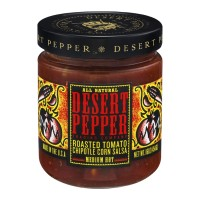 Desert Pepper Trading Company Roasted Tomato Chipotle Corn Salsa Medium Hot - 16.0 OZ