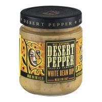 Desert Pepper Trading Company White Bean Dip Medium Hot - 16.0 OZ