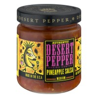 Desert Pepper Trading Company Authentic Pineapple Salsa Medium - 16.0 OZ