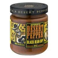 Desert Pepper Trading Company Authentic Black Bean Dip Spicy - 16.0 OZ