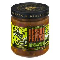 Desert Pepper Trading Company Authentic Corn Black Bean Red Pepper Salsa - 16.0 OZ