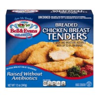 Bell & Evans Breaded Chicken Breast Tenders - 12 OZ