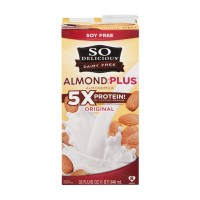 So Delicious Dairy Free Almond + Plus Almondmilk Original 32 OZ