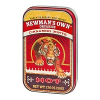 Newman's Own Organics Cinnamon Mints Hot - 1.76 OZ