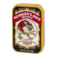 Newman's Own Organics Ginger Mints - 1.76 OZ