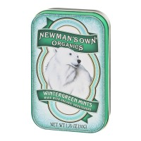 Newman's Own Organics Wintergreen Mints - 1.76 OZ