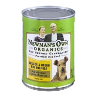 Newman's Own Organics Premium Dog Food - Chicken & Brown Rice Formula 12.7 OZ