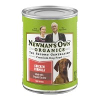 Newman's Own Organics Premium Dog Food - Chicken Formula 12.7 OZ