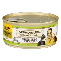 Newman's Own Chicken & Brown Rice Formula Premium Cat Food