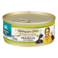 Newman's Own Turkey Formula Premium Cat Food - 5.5 OZ