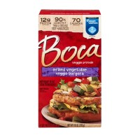 Boca Veggie Burgers - Grilled Vegetable - 4 CT / 10.0 OZ