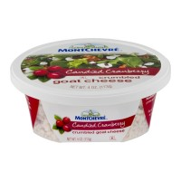 Montchevre Crumbled Goat Cheese - Candied Cranberry 4 OZ