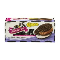 Skinny Cow Ice Cream Sandwiches - Vanilla And Chocolate -  6 CT / 24 FL OZ