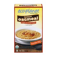 Eco-Planet Glutem Free Instant Oatmeal Maple And Brown Sugar - 6 CT / 8.46 OZ