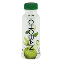 Chobani Greek Green Low-Fat Yogurt Drink Apple Veg 10oz