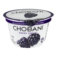 Chobani Greek Non-Fat Yogurt - Blackberry 5.3 OZ