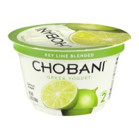 Chobani Greek Low-Fat Yogurt Key Lime Blended 5.3oz