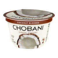 Chobani Greek Low-Fat Yogurt Coconut Blended 5.3oz