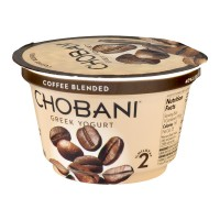 Chobani Greek Low-Fat Yogurt Coffee Blended 5.3oz