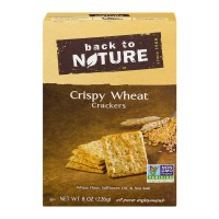 Back to Nature Crispy Wheat Crackers - 8.0 OZ