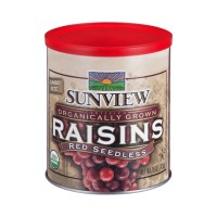 Sunview Raisins Red Seedless Organic Jumbo Size - 15 OZ