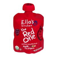 Ella's Kitchen Organic Baby Food - The Red One Smoothie Fruits 3 OZ