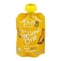 Ella's Kitchen Organic Baby Food - The Yellow One Smoothie Fruits 3 OZ