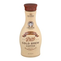 Califia Farms Cafe Latte Pure Cold Brew Coffee - 48.0 FL OZ