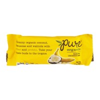 Pure Organic Snack Bar Banana Coconut - 1.7 OZ