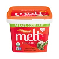 Melt Organic Soy Free Buttery Spread  Rich And Creamy - 13.0 OZ